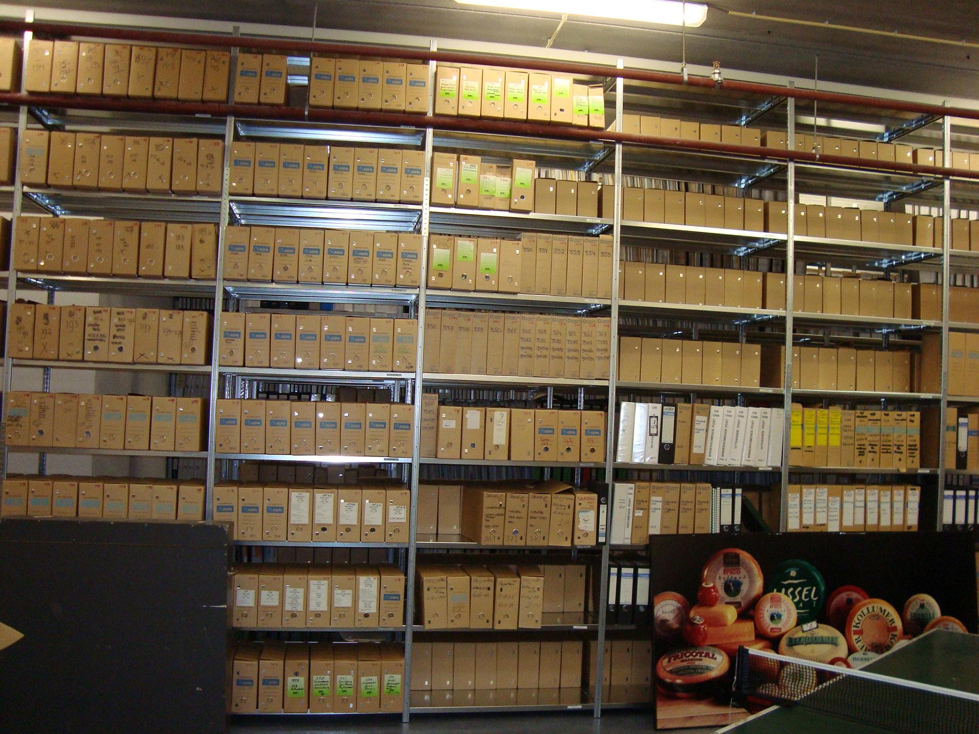 archiefinrichting metaal