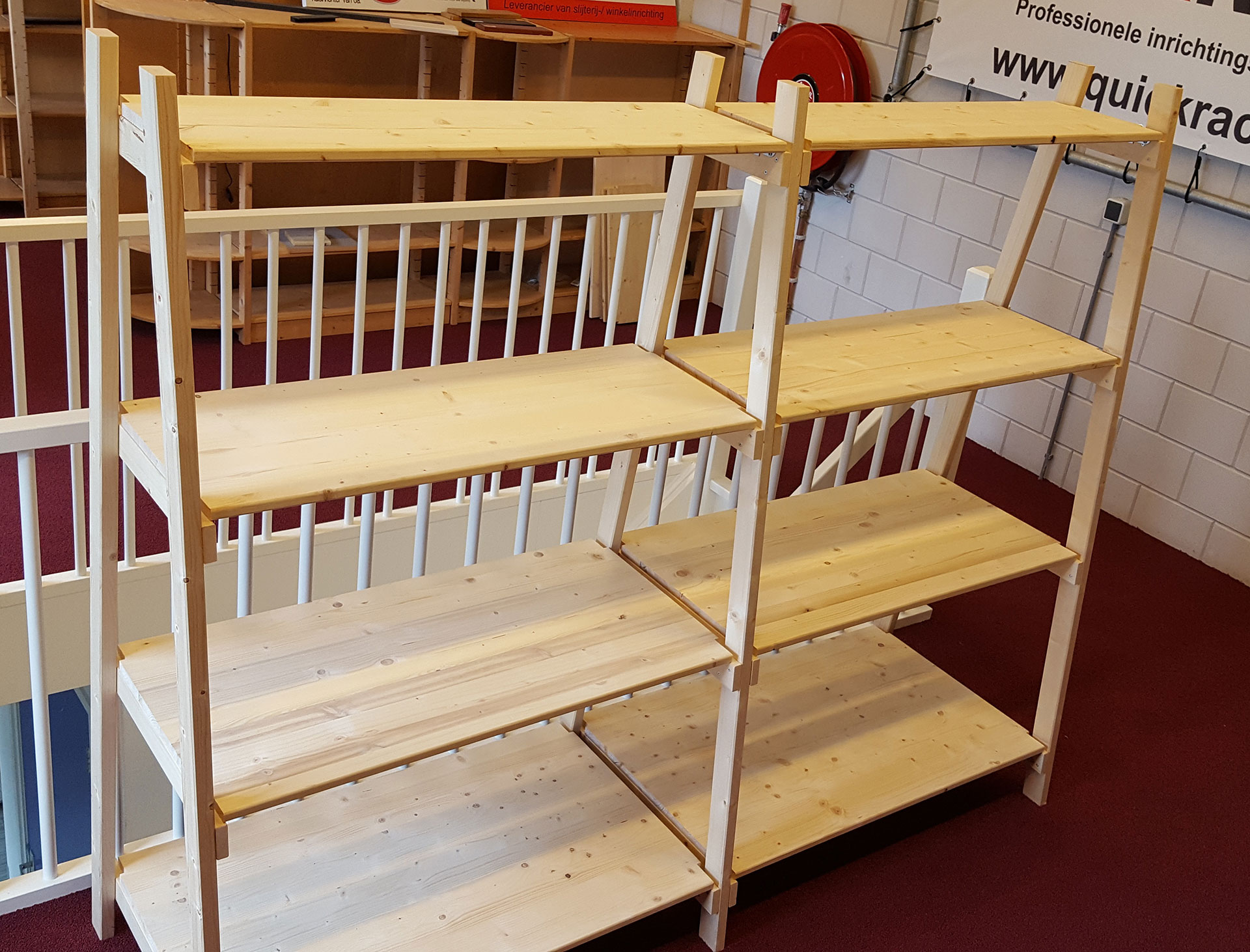 producent van houten stellingen